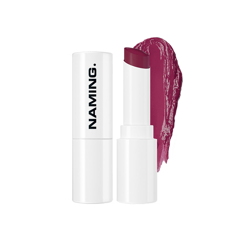 NAMING Melting Glow Lipstick (PKP02 MUTED PLUM)